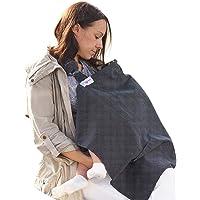 Breastfeeding Cover Up Nursing Cover - Breastfeeding Scarf Apron - Black