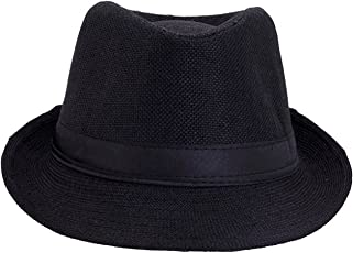 faas Fedora Hat Black for Boys & Girls Age 4 to 5 yrs.FH06