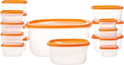 Princeware SF Pak Container Set, 17-Pieces