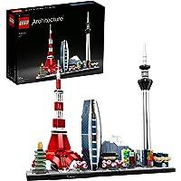 LEGO 21051 Architecture Modèle Tokyo, Skyline Collection, Maquette à Construire et à Collectionner Adulte, 130 pièces…