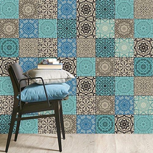 Rinnovare piastrelle cucina piastrelle murali adesive for Piastrelle adesive da parete