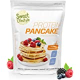 Preparato per pancake proteici   1 Kg   Protein Pancake mix   30% proteine   Sweet LifeStyle   100% made in Italy   Qualità P