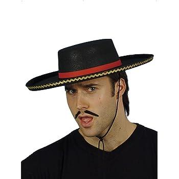 SMIFFYS Smiffy s Cappello Spagnolo con Corda per Adulti 235c635adeda