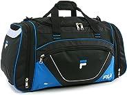 Fila Acer Large Sport Duffel Bag, Black/Blue