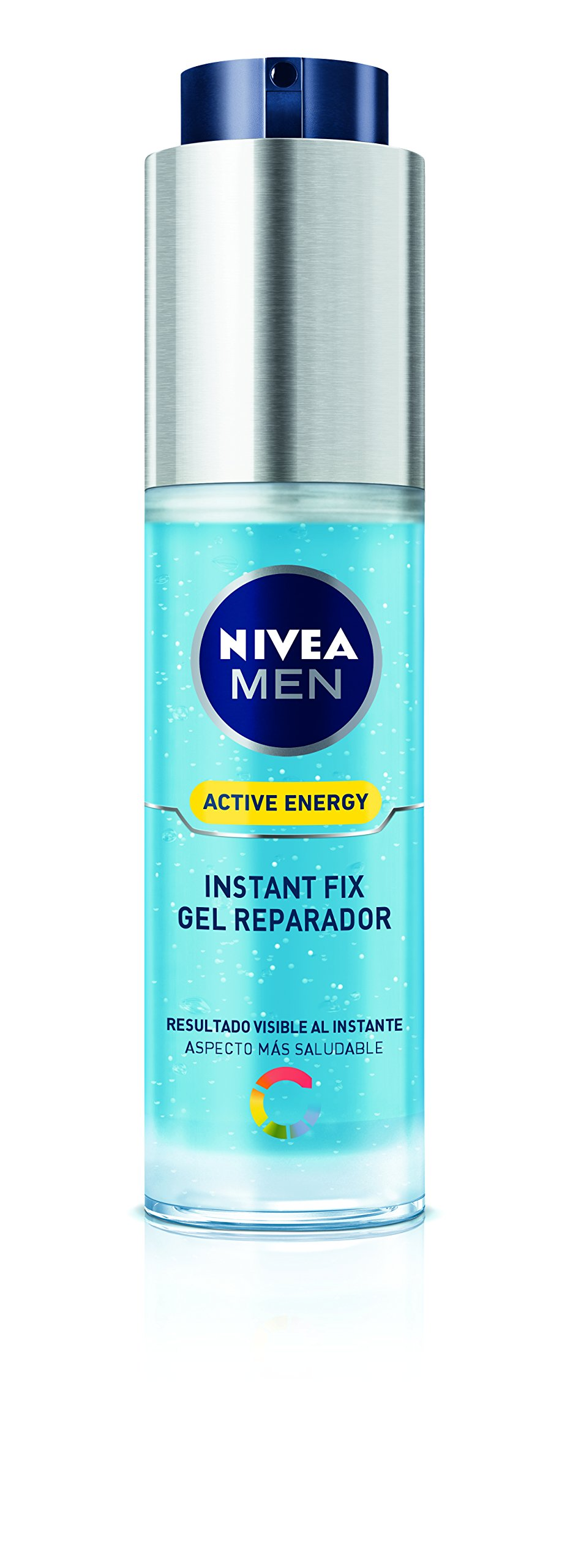 NIVEA Men gel reparador active energy instant fix dosificador 50 ml
