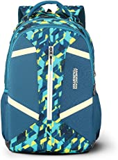 American Tourister Meso 30.5 Ltrs Teal Casual Backpack (Fi2 (0) 11 002)