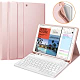 "Fintie Tastatur Hülle für iPad Air 10.5"" 2019 (3. Generation) / iPad Pro 10.5"" 2017, Soft TPU Rückseite Schutzhülle mit…"