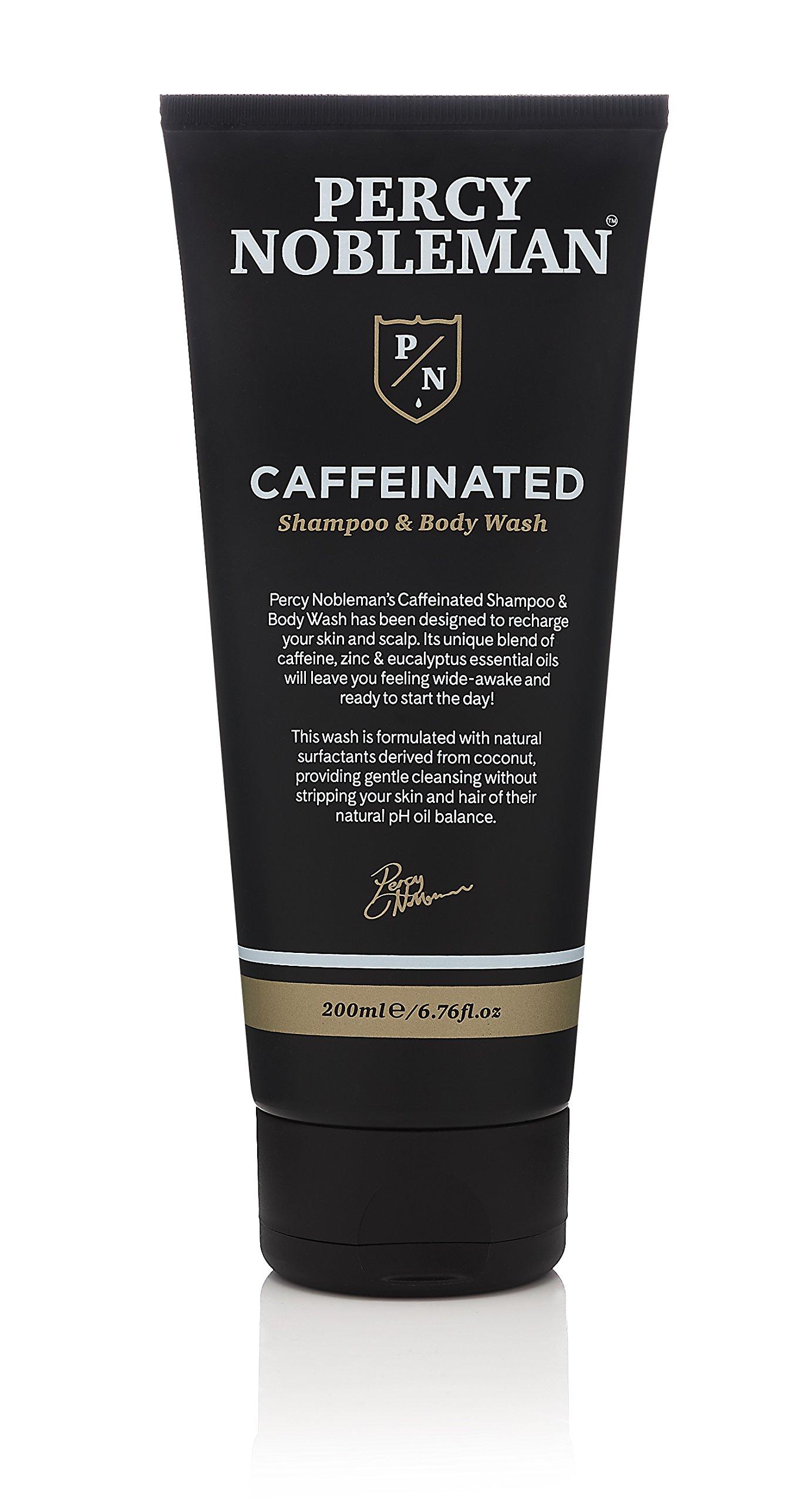 Caffeinated shampoo & Body Wash by Percy Nobleman 200ml