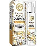 Mom & World Radiant Boost Day Lotion Moisturizer with SPF 30 UVA/UVB PA+++ - with Vitamins C, E, Plant oils, Saffron and lico