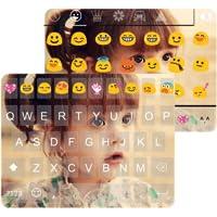 Cute Photo Emoji akaeyboard Theme
