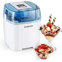 Klarstein Creamberry Machine à glace 4 en 1 (pour glaces, frozen yoghurts, milkshakes ou stockage de boissons fraiches…