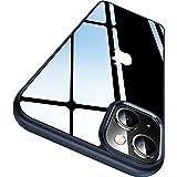 CASEKOO Crystal Clear Kompatibel für iPhone 13 Hülle 2021, [Nie Vergilbung] [Unzerstörbarer Militärschutz] Stoßfeste…