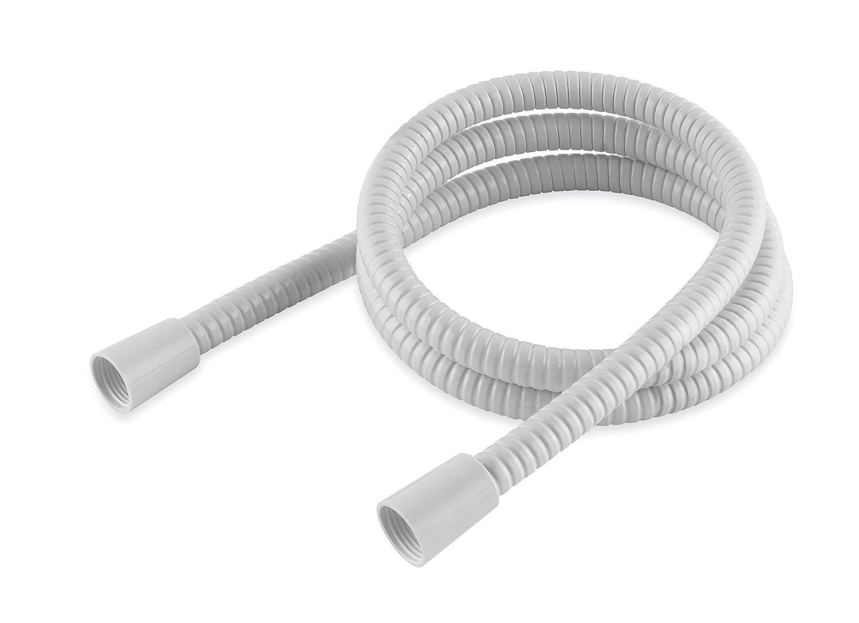 MX Group 1.5 m PVC Shower Hose - White: Amazon.co.uk: DIY & Tools