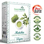 Simply Herbal Japanese Matcha Green Tea Powder - 55gm