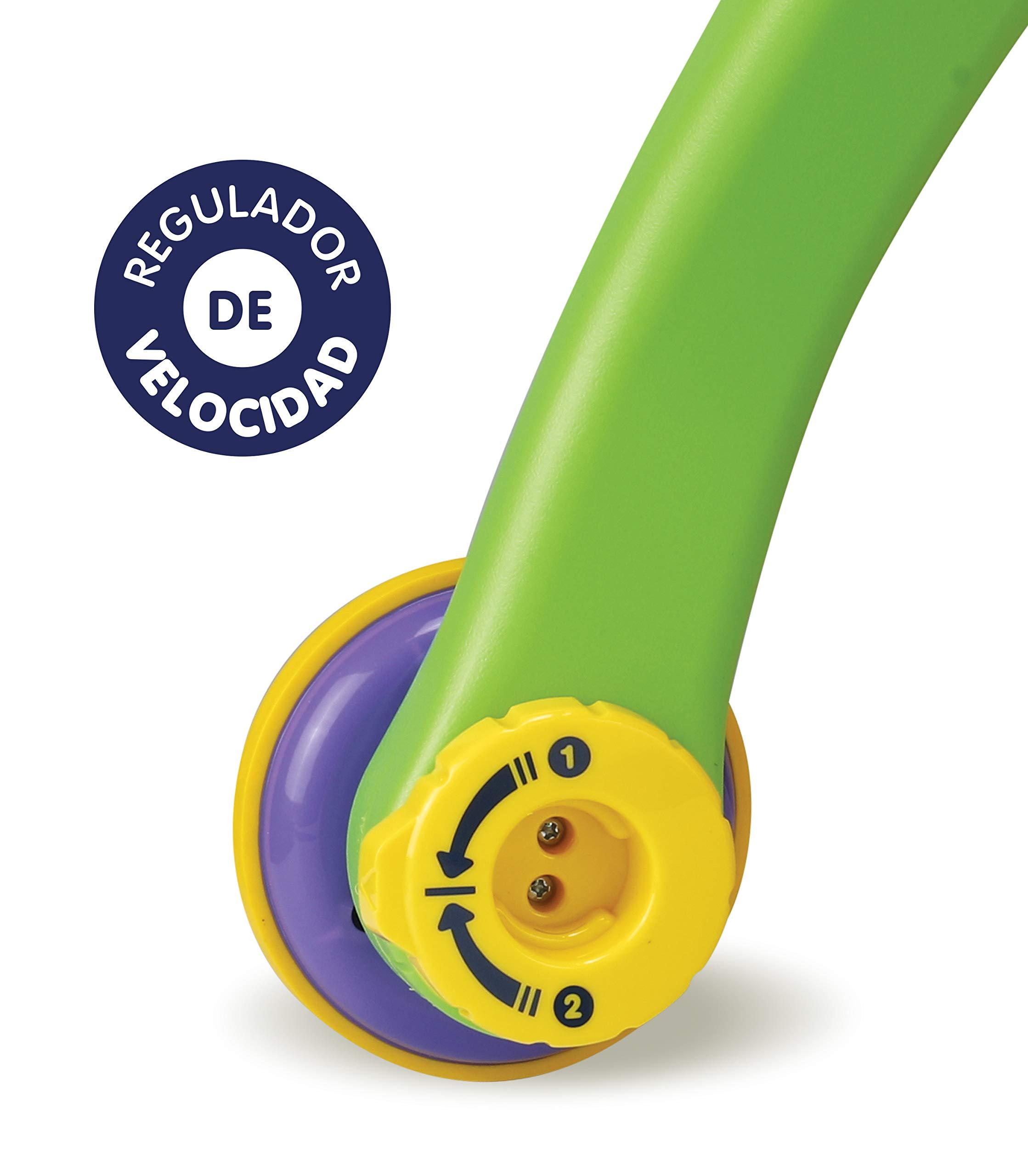 Correpasillos Andand/ín 2 en 1 80-505622 VTech Dise/ño Mejorado Andador Beb/é InTeractivo Plegable y Regulador de Velocidad Multicolor