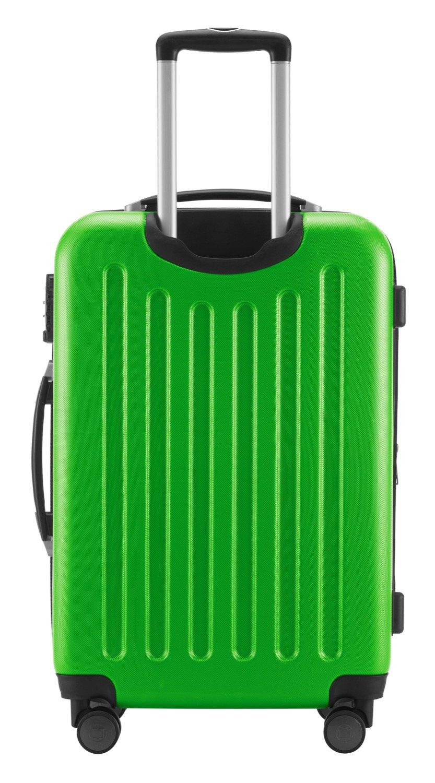 Hauptstadtkoffer-Spree-Hartschalen-Koffer-Koffer-Trolley-Rollkoffer-Reisekoffer-Erweiterbar-TSA-4-Rollen-65-cm-74-Liter-Apfelgrn