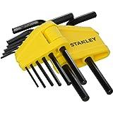 Stanley Sechskantstiftschlüssel-Set (8-teilig, je 1x 1.5/2/2.5/3/4/5/5.5/6 mm Stiftschlüssel) 0-69-251