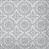 Sovie HORECA Serviette Madrid-Classic in graphit aus Tissue 40 x 40 cm, 100 Stück