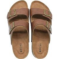 ONCAI Homme-Mules-Sandales-Claquette-Arizona-Slide-Sandales de Plage Loisir Bout Ouvert Chaussures de Plage Antidérapant…