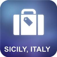 Sizilien, Italien Offline Map