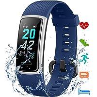 [Aktualisierte 2021 Version] Fitness Armband mit Pulsmesser,IP68 Wasserdicht Smartwatch Aktivitätstracker Sportuhr…