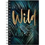A5 Wild Academic Year Diary 2021-2022 Week to View Mid Year Planner Wiro Bound
