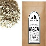 EDEL KRAUT | BIO SCHWARZES MACA PULVER Premium Superfood 100% MACAWURZEL SCHWARZ 500g