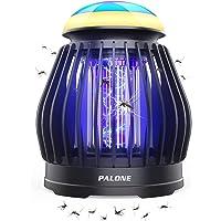 PALONE Lampe Anti Moustique Moustique Tueur Lampe Exterieur Lumière d'ambiance 8 Couleurs Portable USB Rechargeable…