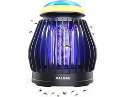 PALONE® Lampe Anti Moustique Moustique Tueur Lampe Exterieur Lumière d'ambiance 8 Couleurs Portable USB Rechargeable Hangable