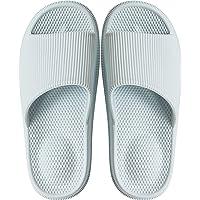 Sandales Style Claquettes Mixte Adulte, avec fonction de massage idéale pour l'été antidérapantes salle de bain Couples…