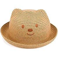 SAMGU Cappello per Il Sole Animali Kid Boy Girl Primavera Estate Bambini Protezione del Bambino del Cappello di Paglia