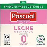Pascual Leche Desnatada Uperisada, 6 x 1L