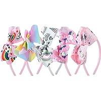 MOOKLIN ROAM 5 Pezzi Cerchietti Unicorno Fasce per capelli Bambina Ragazza Cerchietto Multicolore Fiocco Coperte da…