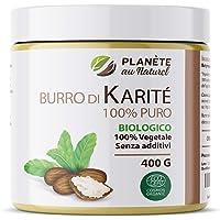 Burro di Karité Biologico 400 g - 100% Puro - Non raffinato