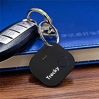 Trecky Porte-clés Connecté pour Retrouver Tous Vos Objets (Clés,Portable,Tablette,Portefeuille,Sac.) Traqueur Sonore…