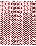 Polsterstoff Möbelstoff Bezugsstoff Meterware für Stühle, Eckbänke, etc. - Breeze Rot Abstrakt Polypropylen - Meterware