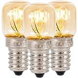 Klass Home (Pack of 3) Salt Lamp Bulb, e14 Oven Bulb up to 300° for Salt Lamp, Salt Lamp Replacement Light Fitting…