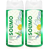 Amazon Brand - Solimo Shower Gel, Lemon & Tea Tree - 250 ml (Pack of 2)