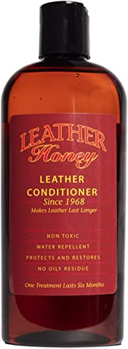 Leather Honey Leather Conditioner, die beste Leather Conditioner seit 1968, 8 Oz Flasche. Zur Verwendung auf Lederbekleidung