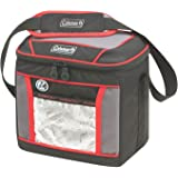 Coleman Soft Cooler Bag, 9 Can Insulated Lunch Cooler with Adjustable Shoulder Straps,Great for Picnics, BBQs,Camping,Tailgat