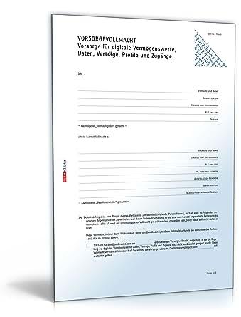 Digitale Vorsorgevollmacht [PDF Download] [Download]