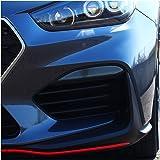 Refklektorblende 4 Teiliges Set Reflektorband Dark Grey Grau Folie Aufkleber Für Auto Heck Reflektor Abdunklung Selbstklebend Transparent C047 Auto