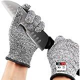 Venustas Cut Resistant Gloves Work Glove Level 5 Working Safety Glove Cut Proof Gloves for Kitchen Butcher Outdoor Work Prote