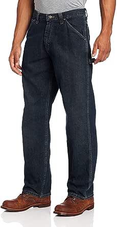 Lee Men's Loose-Fit Carpenter Jean, Deep Indigo, 30W x 29L