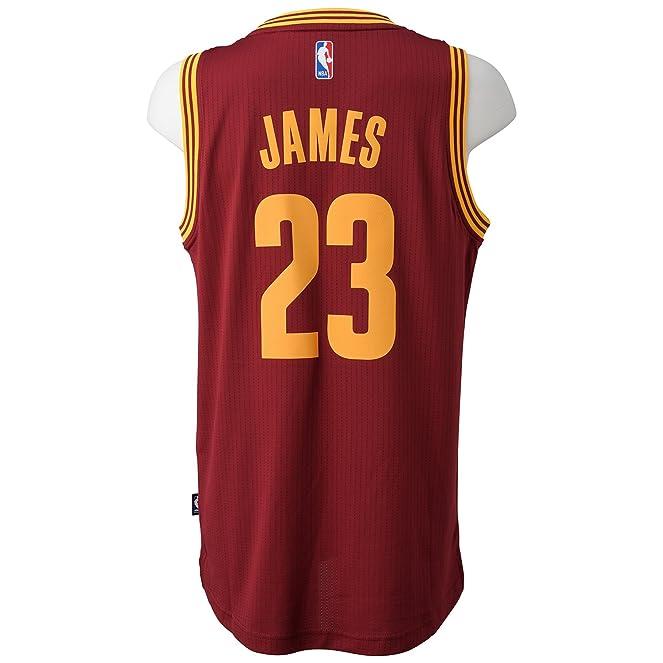 ae104483dd3 ... Adidas Mens Cleveland Cavaliers Swingman Jersey Amazon.co.uk Sports  Outdoors ...