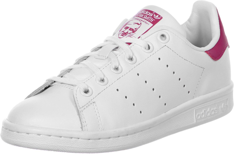 online store d2340 ea53c adidas Stan Smith J, Scarpe da Ginnastica Basse Unisex-Bambini ...