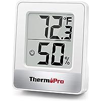 ThermoPro TP49 Mini Igrometro Termometro Digitale Termoigrometro da Interno per Casa Monitor di Temperatura e umidità…