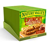 Nature Valley Crunchy Canadian Maple Syrup Cereal Bars 5x 42g (Pack of 5, total 25 Bars)
