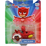 Pj Masks Single Pack Diecast Owl-Glider for Kids, Age 3 to 8 Years
