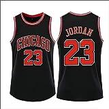 ZUQIU Chicago Mesh Bulls - Camiseta de baloncesto transpirable #23 cómoda y fresca lejos de Michael Leisure And Comfort Jerse
